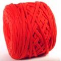 Трикот.Пряжа 7-9мм Хлопок 100% цв.3300 Красный Коралл (Бобина/100-110м)