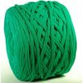 Трикот.Пряжа 7-9мм Хлопок 100% цв.5302 Зеленый (Бобина/100-110м)