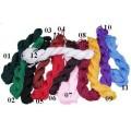 Каталог шнуров из шёлка, вискозы, нейлона