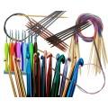Каталог инструментов и приспособлений для вязания, крючки, спицы, иглы, маркеры