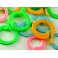 Маркеры для вязания пластик (20х18мм+25х20мм) цв.01 (Цена за 1компл/2шт)