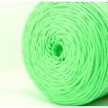 Трикот.Пряжа 7-9мм Хлопок 100% цв.5120 Св.Зеленый (Мята) (Бобина/100-110м)