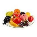 Поступление муляжей фруктов, регилина и трикотажной пряжи