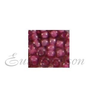 Бисер Matsuno круглый 12/0 цв.10208 Прозрачный Вишневый/Розовый (цена за уп/10г)