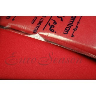 Фоамиран (Иран) 0.8мм цв.012 (Красный) лист 20х30см
