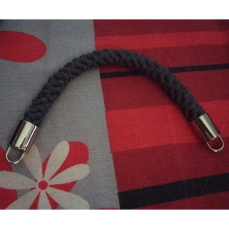Держатель ручек для сумки металл Мд-01 17х32мм (внешн) цв.02 Серебро (Цена за 1шт)