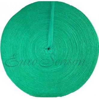 Трикот. полотно Кулирка ХБ100% пл.145г/м2 отрез 0,5х0,5м цв.5302 Зеленый (цена/1шт)