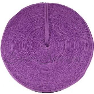 Трикотажная лента 30мм Хлопок 100% цв.8600 Meadow Violet (Ролик для 100-110м)