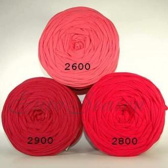 Трикот. полотно Кулирка ХБ100% пл.145г/м2 отрез 0,5х0,5м цв.2600 Фламинго (цена/1шт)