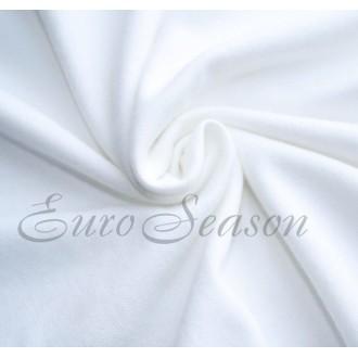 Трикот. лента 30мм Хлопок 100% цв.0001 Белый (Ролик для 100-110м)