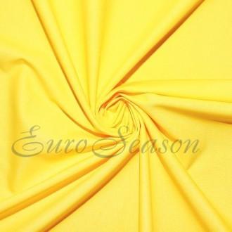 Трикот. полотно Кулирка ХБ100% пл.145г/м2 отрез 0,5х0,5м цв.4560 Лимон (цена/1шт)