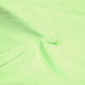 Трикот. полотно Кулирка ХБ100% пл.145г/м2 отрез 0,5х0,5м цв.5120 Св.Зеленый Мохито (цена/1шт)