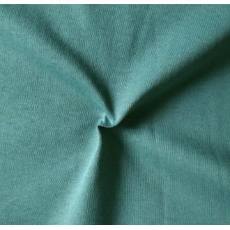 Трикот. полотно Кулирка ХБ100% пл.145г/м2 отрез 0,5х0,5м цв.5650 Голубая Ель (цена/1шт)
