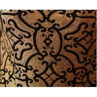 Лакби Платье арт.Od-Lakbi-11798 цв.Черный/Золотистый р.42