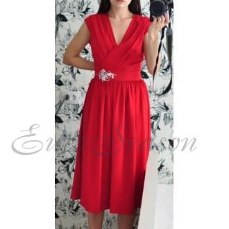 Лакби Платье арт.Od-Lakbi-11912 цв.Красный р.44